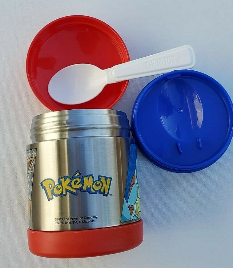 Spoon Thermos Funtainer Stainless Steel 10 Oz Insulated Fo