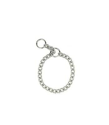 Choke Chain for Dog Collar - Fine 14in to 22in x 2mm - Highest Quality - Fine Dog Choke Chain Collar