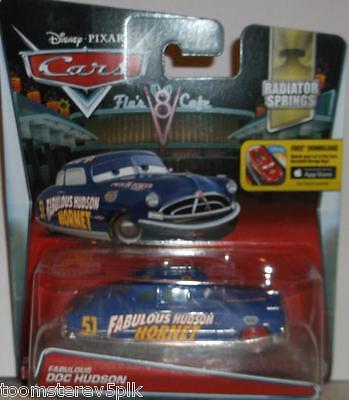 Disney Pixar World Of Cars Fabulous Doc Hudson Hudson Hornet Radiator Springs