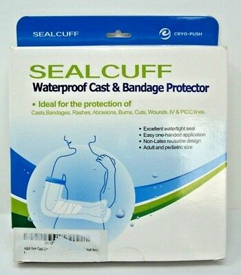 Waterproof Cast, Bandage, Rash, Wound, IV & Picc Lines Protector Non Latex  ()
