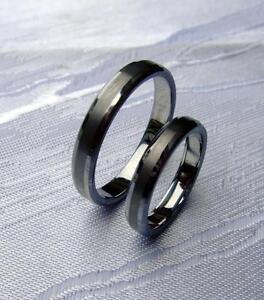 Wolfram Tungsten Carbide Smal Ringe 3 5 mm Breit Poliert Gebürstet ...