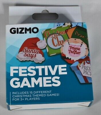 Gizmo Festive Games: Fun Xmas Christmas Stocking Filler Gift for Family & Kids for sale  Shipping to Nigeria