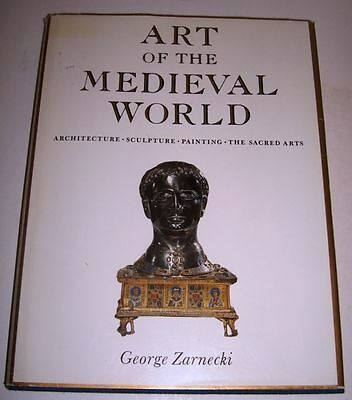 ART MEDIEVAL WORLD ARCHITECTURE SCULPTURE PAINTING SACRED ARTS ZARNECKI 1975 DJ - Medieval Architecture