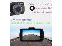 "3""1080P HD Car DVR Dash Camera HDMI Video Cam Recorder G-Sensor Night Vision UK 32 GB free Memo card"
