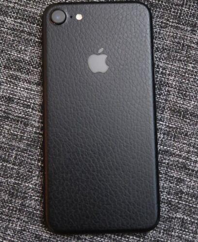Leather iPhone Skin Wrap Sticker