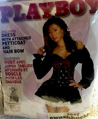 Playboy Sexy Swashbuckler Size 2-6 Petticoat ADULT COSTUME New In Package