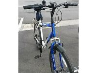 FOR SALE! Used adults Apollo XC.26 Mountain bike. Metallic blue/pearl white, good condition.