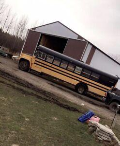 2000 GMC Converted schoolbus