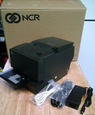 Ncr Realpos 7168-2013-9001 Thermal Receipt Printer Wnew Ac Adapter And Usb