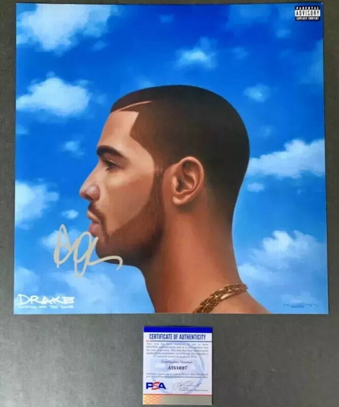 DRIZZY Drake RARE SIGNED Autographed Nothing Was the Same ALBUM PHOTO!!!!!!
