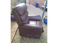 Rise & Recline Arm Chair For Sale