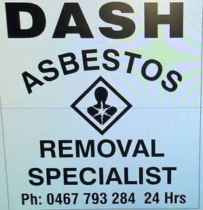 DASH ASBESTOS REMOVAL SPECIALESTS Newcastle Newcastle Area Preview
