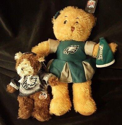 Philadelphia Eagles NFL Football Plush Stuffed Animals Cheerleader - Teddy Bear for sale  Wapwallopen