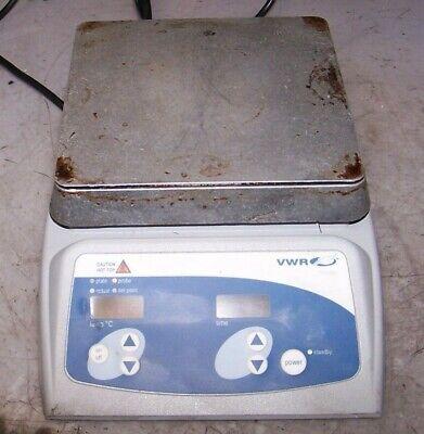 Vwr 11301-016 Professional Digital Hotplate 7 X 7 Aluminum Top 120 Vac 625 Wat