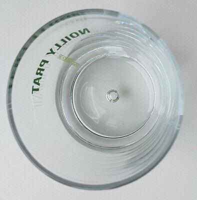 Verre de la marque de vermouth  noilly prat 20 cl