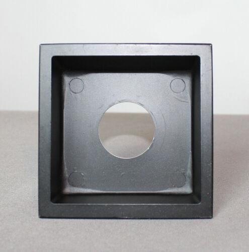 """Calumet ,Cambo,Toyo, Graflex 4x4"""" Recessed Metal Lens Board, Copal #0, Ex++"""