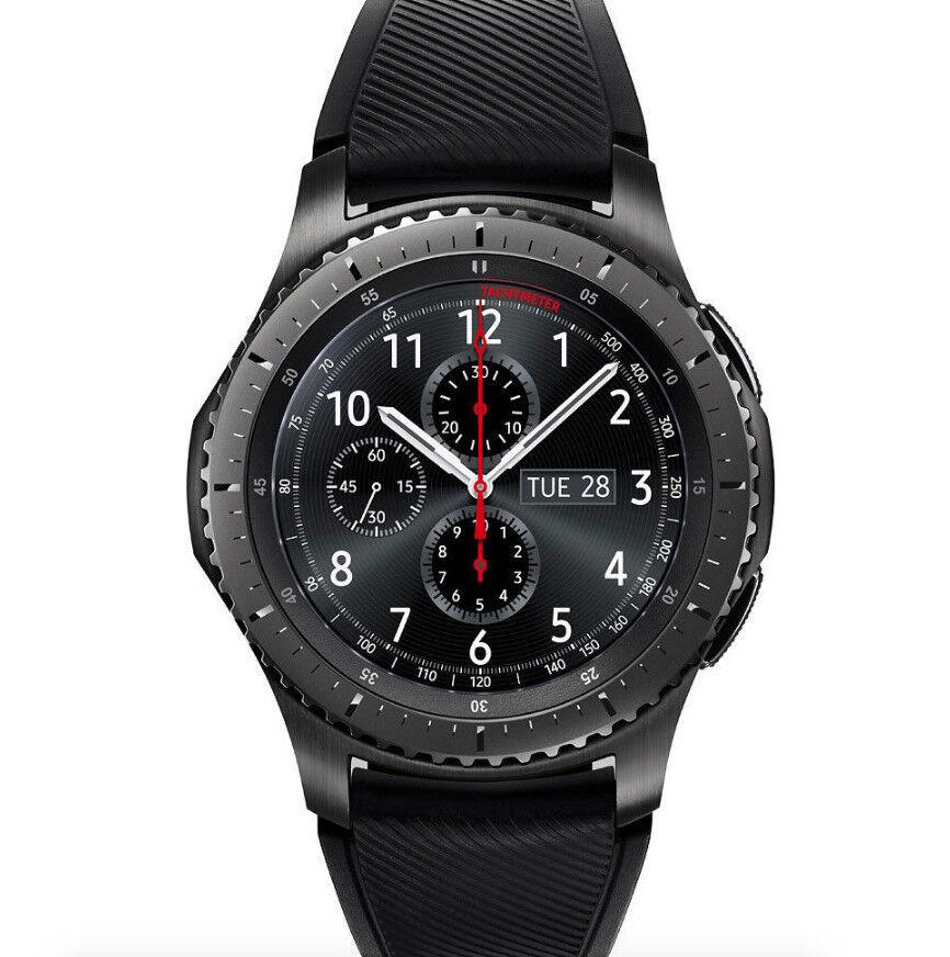 SAMSUNG Gear S3 Frontier Dark Grey Bluetooth Smartwatch ( SM-R760NDAAXAR )