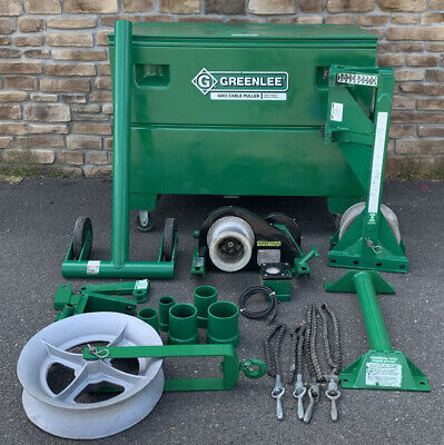 Greenlee 6000 6001 6500 Lbs 6003 Super Tugger Cable Puller Set Awesome