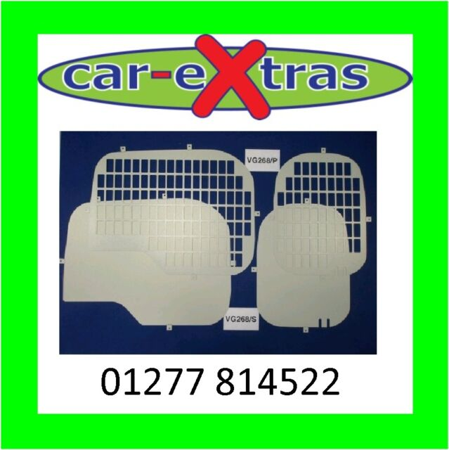 Rear Window Grilles for Citroen Nemo/Fiat Fiorino 2008 on/Peugeot Bipper
