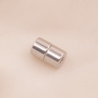 Silvery Column Magnetic Clasp Hook Jewelry Making Magnet Dia.5mm For Bracelet - Clasps For Jewelry Making