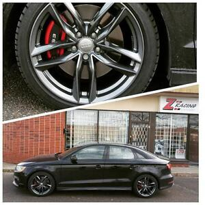prebook Audi A3 A4 A5 A5 A5 SQ5 Q7 winter tires rims packages at zracing -- 905 673 2828