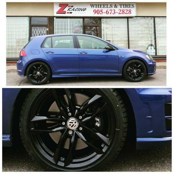 17 inch 18 inch vw golf r s3 winter tires rims 960 tax. Black Bedroom Furniture Sets. Home Design Ideas