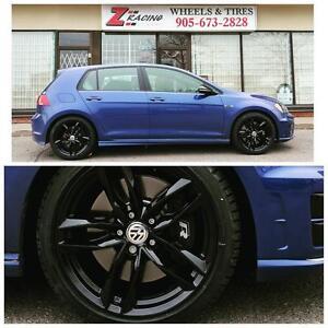 17 Inch 18 Inch VW Golf R  S3 Winter Tires Rims $960 + Tax @Zracing 905 673 2828 Winter Tire sale Brampton Mississauga