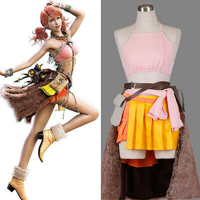 FF-XIII Final Fantasy FF XIII 13 Cosplay Kostüm costume Oerba Dia Vanille - Vanille Cosplay Kostüm