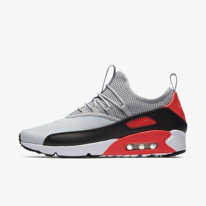 huge sale 853ff 0b892 Nike Air Max 90 Men s Running Shoes EZ Grey Black Infrared Wolf AO1745-002  🔥. black