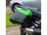 panniers for kawasaki versi 1000 2015 onwards