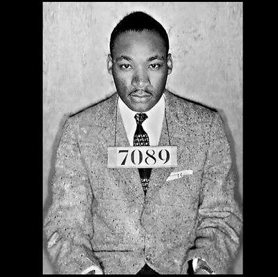 Martin Luther King Jr Arrest PHOTO Mug Shot Montgomery Black Civil Rights MLK