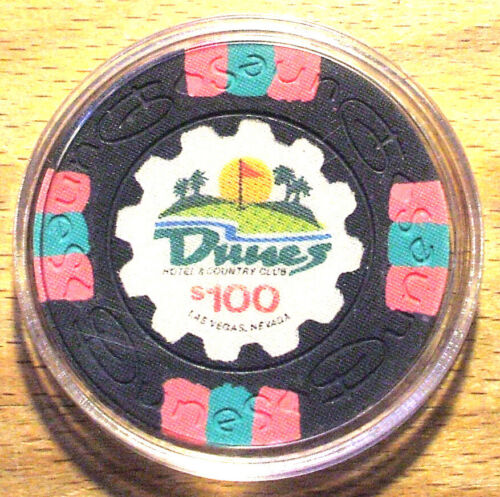 $100. Dunes Casino Chip - Las Vegas, Nevada