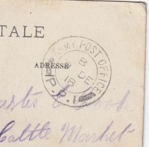 WW1 Soldats Carte Postale à Bridgewater Somerset APO PPI
