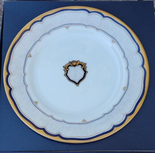 "Woodmere White House China 7½"" Dessert Plate W/ COA & #"