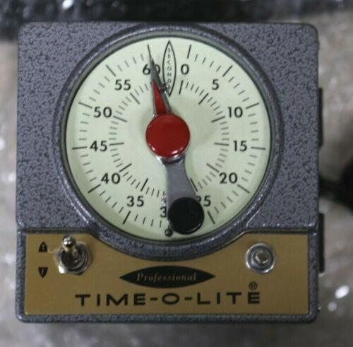 Vintage TIME-O-LITE Professional Timer P-72