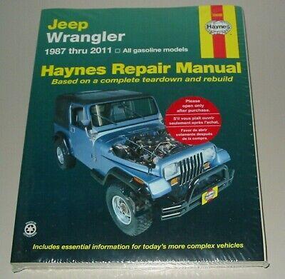 Reparaturanleitung Jeep Wrangler Baujahre 1987 bis 2011 Benziner Repair Manual! gebraucht kaufen  Schortens