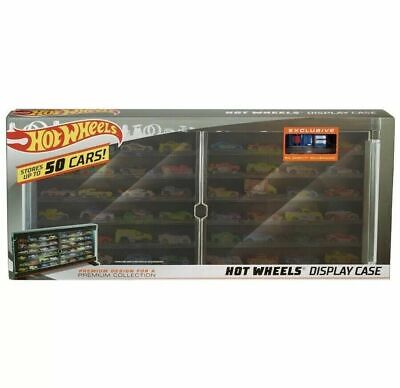 Hot Wheels Display Case Holds 50 Cars includes 83 Chevy Silverado
