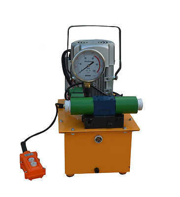 Electric Driven Hydraulic Pump 2 Valve Automatic Reverse Hydraulic Power Unit