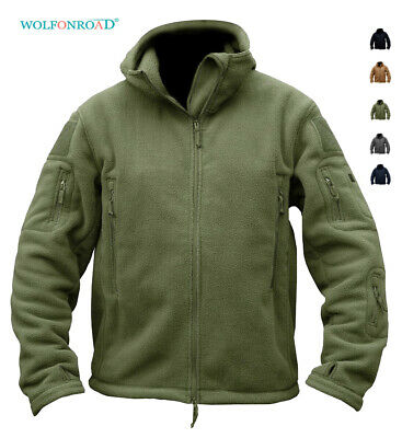 Mens Casual Sports Coats - Mens Fleece Jackets Military Outdoor Winter Coats Tactical Army Casual Outwear