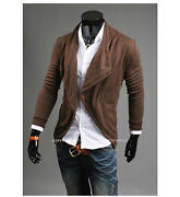 Mens Slim Cardigan