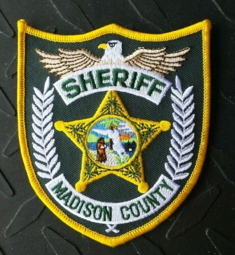 MADISON COUNTY FLORIDA SHERIFF PATCH UNUSED
