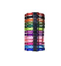 Tuff Nylon Adjustable Dog Collar - all sizes & all colors High Quality