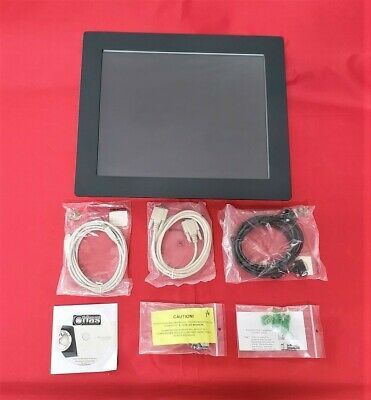 New Atlas Industrial 19 Touch Screen Monitor Flat Panel Pc Hmi