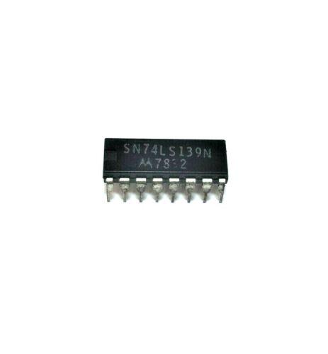 Phillips ECG-74LS139 - Dual 4−Input Positive NAND - 16-Pin DIP TTL IC, NOS NTE