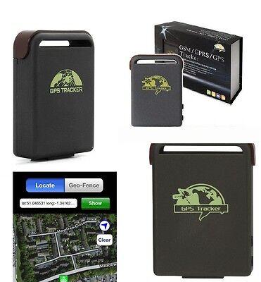Genuine GPS Tracker Magnetic Car Vehicle Spy Mini Personal Tracking Device TK102