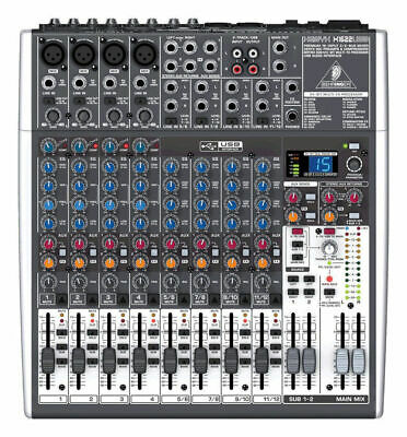 Behringer XENYX X1622USB 16-Channel Mixer Mixing Board w/ USB & FX EQ. Buy it now for 299.0