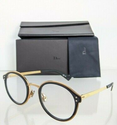 Brand New Authentic Christian Dior Eyeglasses EXQUISEO3 807 Black 49mm Frame