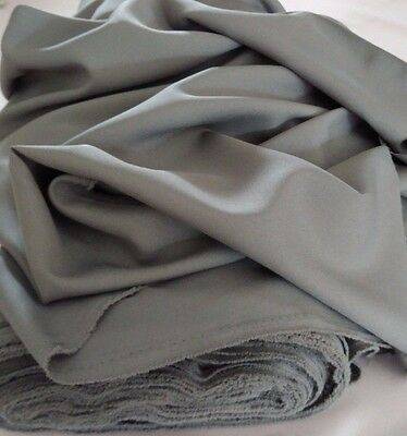"Grey Gabardine Tropical Polyester 60""to 62"" wide, by yard. Free swatches for sale  Miami"