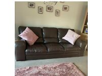 Barker and Stonehouse leather sofas