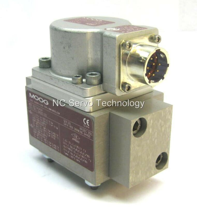 New Moog G771k263a Servo Valve W/1 Year Warranty Nib